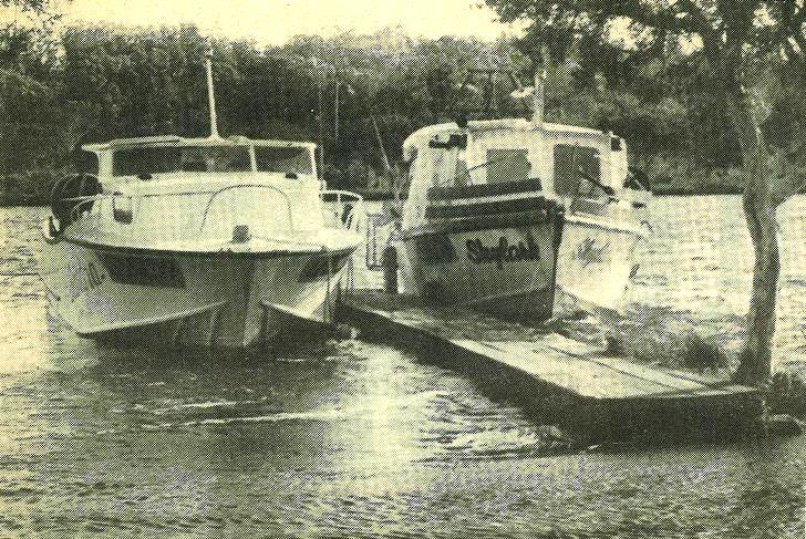 The old Walpole Town Jetty, replaced in 1983/84, had its limitations. Pic: Warren-Blackwood Times, July 13, 1983.