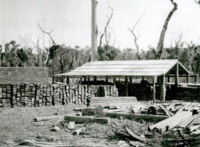 Shook production at Smith's Mill in the 1940s