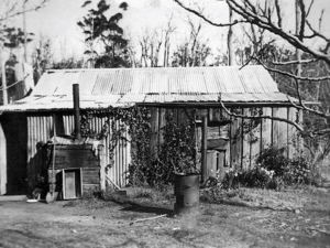 Unsatisfactory ealry settler housing in Walpole & Districts