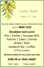 Golden Wattle Bakery