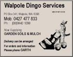 Walpole Dingo Services