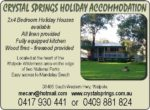 Crystal Springs Holiday Accommodation