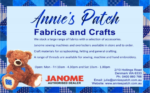ANNIE'S PATCH – FABRIC & CRAFTS