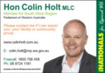 Hon Colin Holt MLC