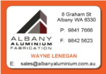 ALBANY ALUMINIUM FABRICATION