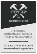 Steve May – Registered Builder