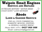 Walpole Small Engines & Abode Lawn & Gardening