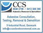 CCS Asbestos Removal & Demolition